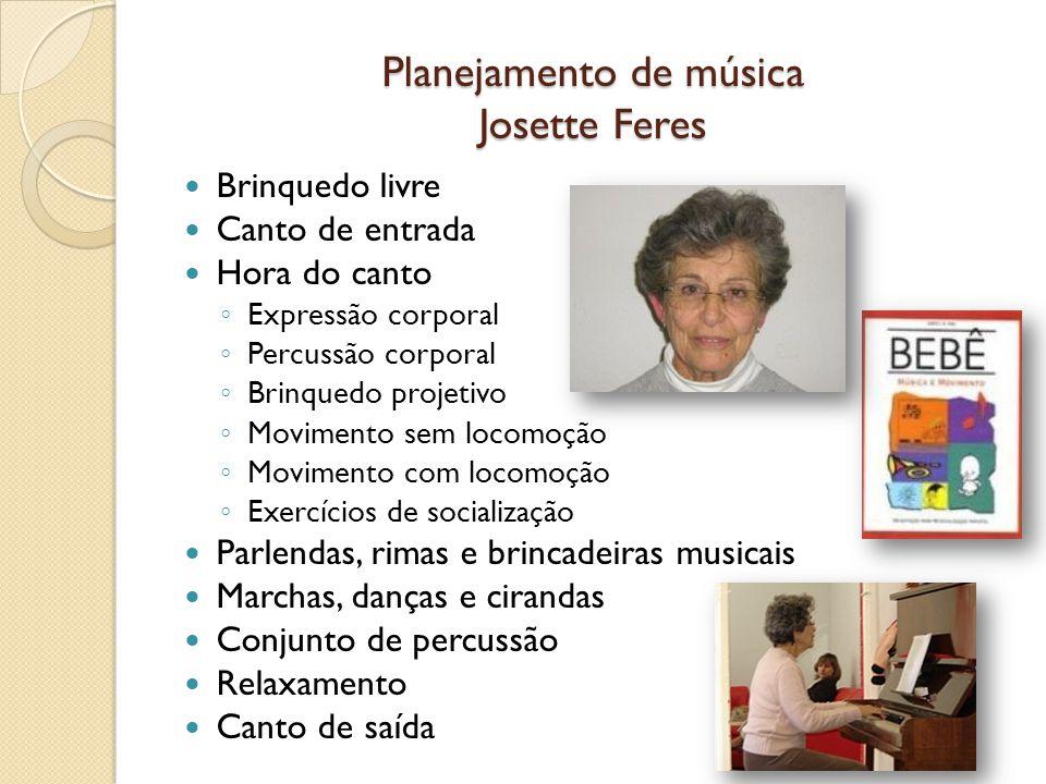 Planejamento de música Josette Feres