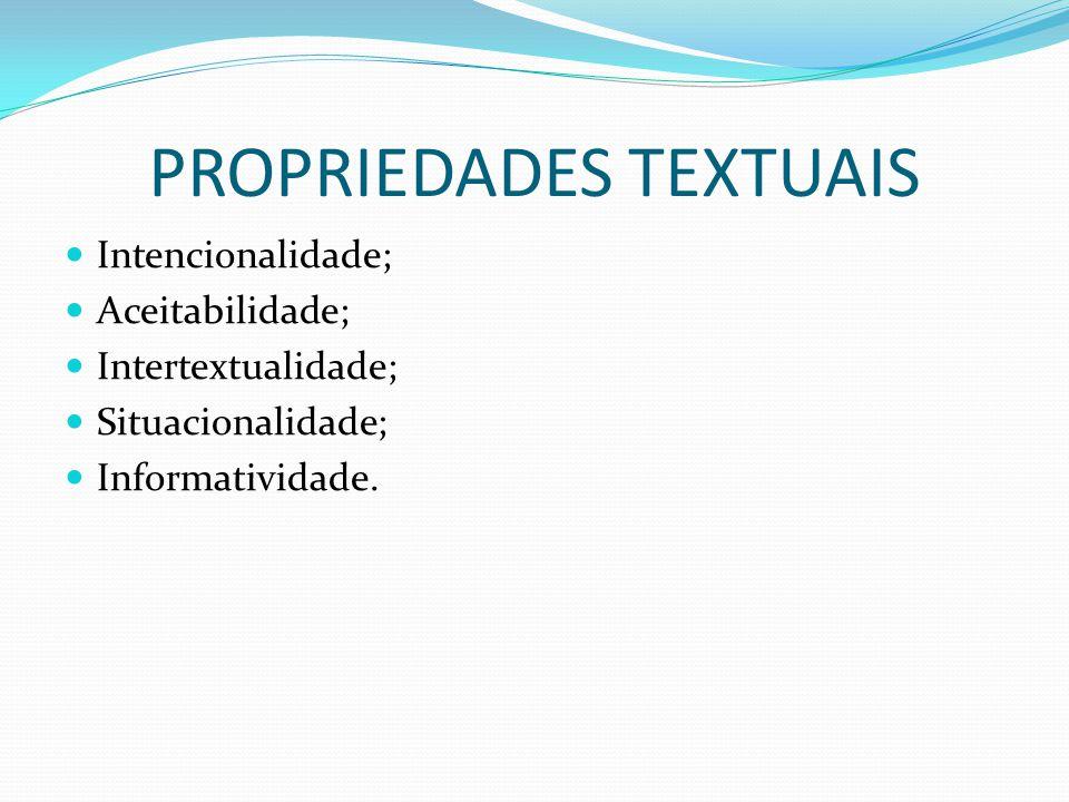 PROPRIEDADES TEXTUAIS