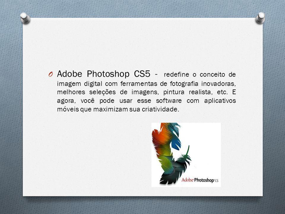 Adobe Photoshop CS5 - redefine o conceito de imagem digital com ferramentas de fotografia inovadoras, melhores seleções de imagens, pintura realista, etc.