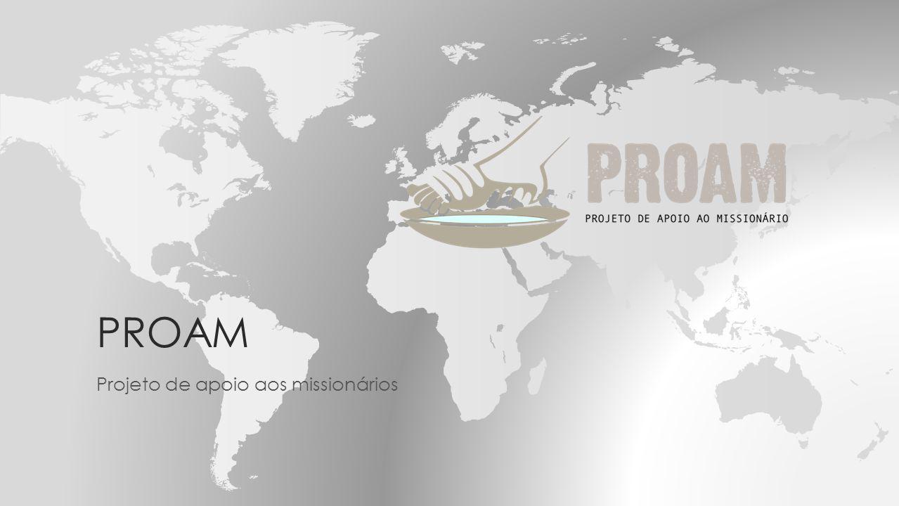 Projeto de apoio aos missionários