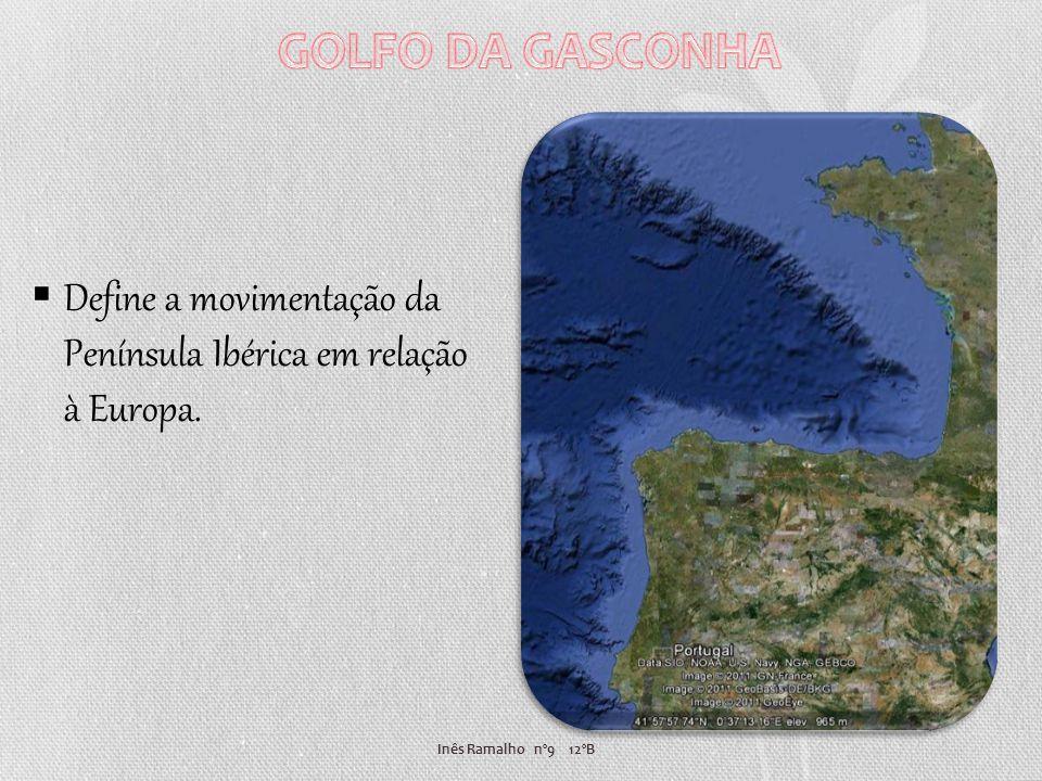 GOLFO DA GASCONHA Define a movimentação da Península Ibérica em relação à Europa.