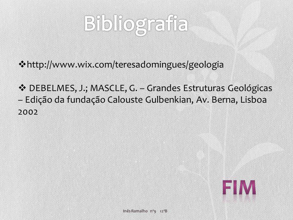 Bibliografia fim http://www.wix.com/teresadomingues/geologia