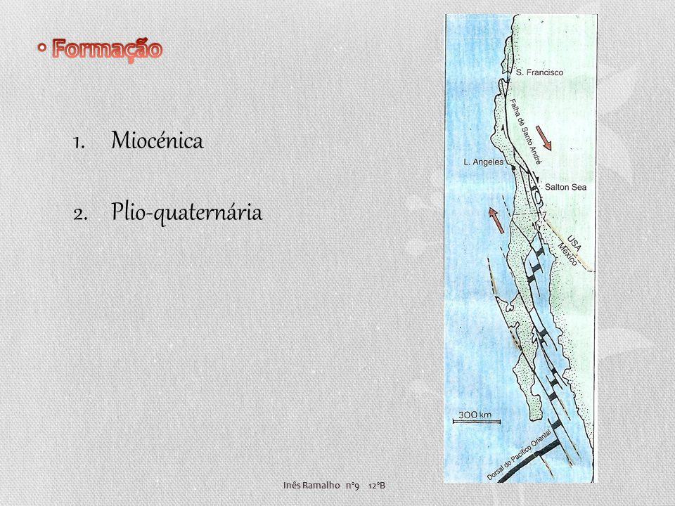 Formação Miocénica Plio-quaternária Inês Ramalho nº9 12ºB