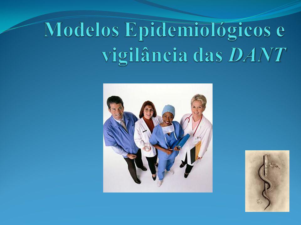 Modelos Epidemiológicos e vigilância das DANT