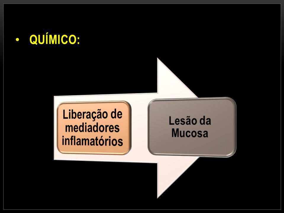 Liberação de mediadores inflamatórios
