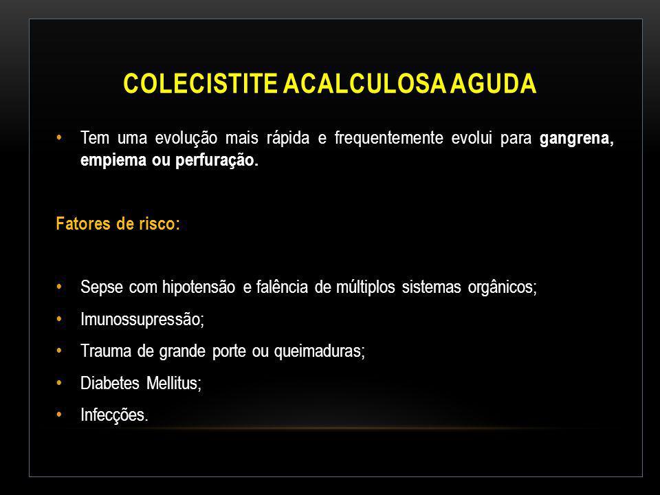 Colecistite Acalculosa Aguda