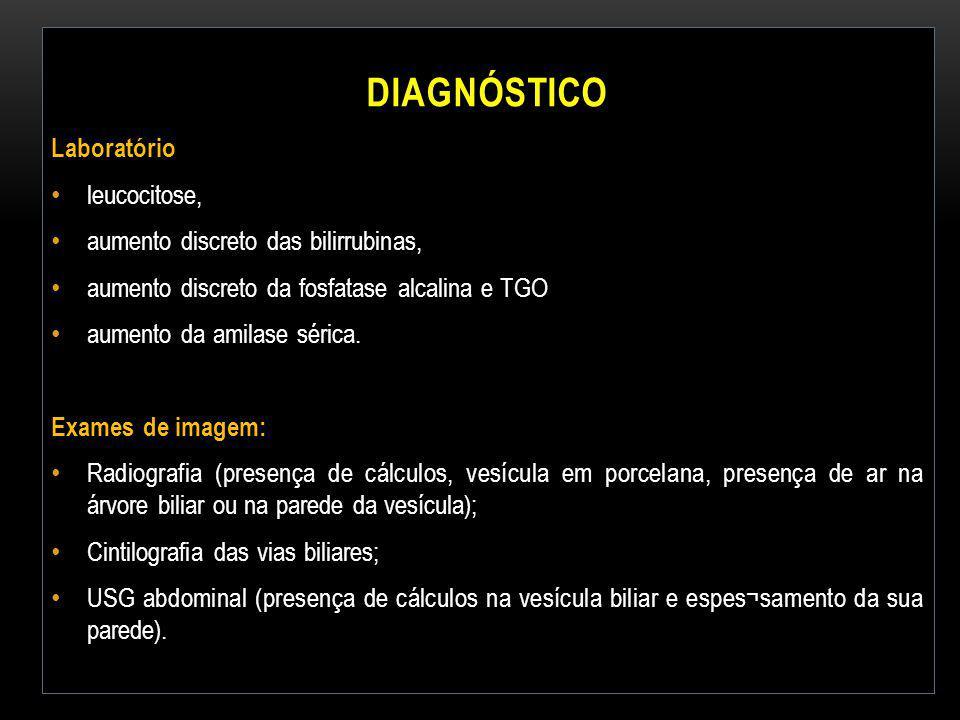 Diagnóstico Laboratório leucocitose,