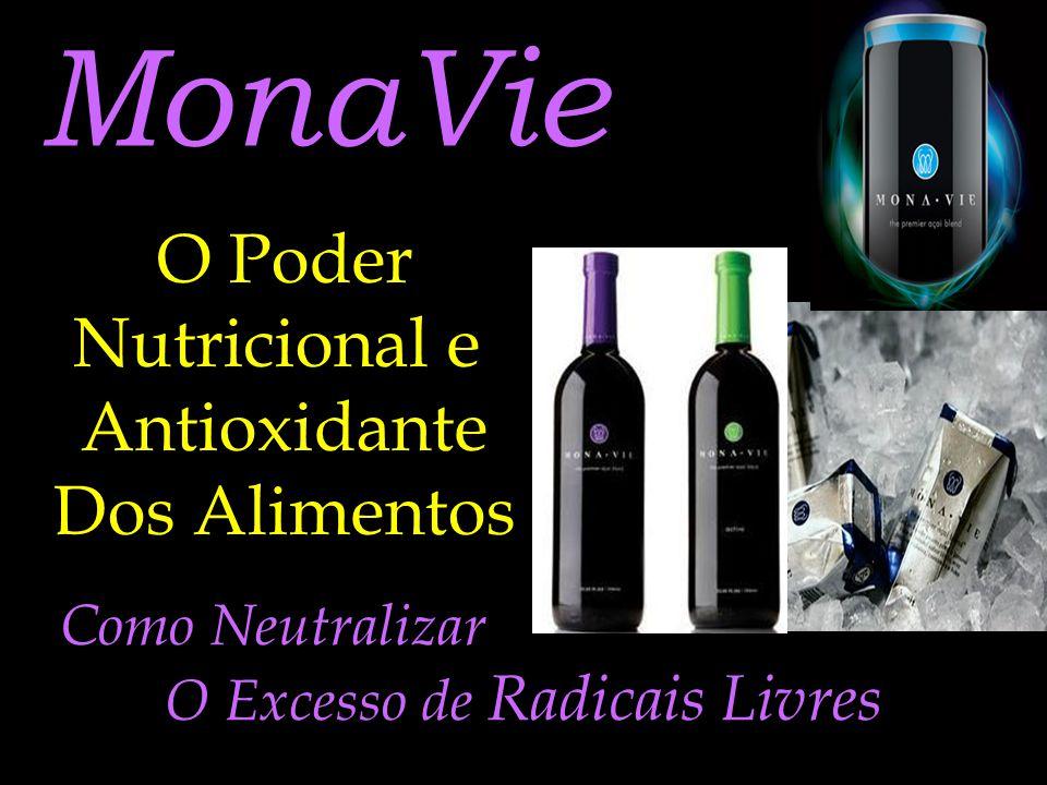 MonaVie O Poder Nutricional e Antioxidante Dos Alimentos