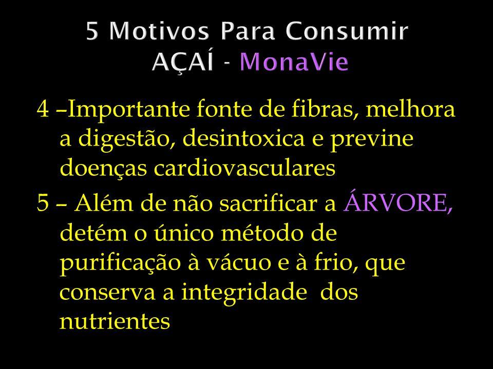 5 Motivos Para Consumir AÇAÍ - MonaVie