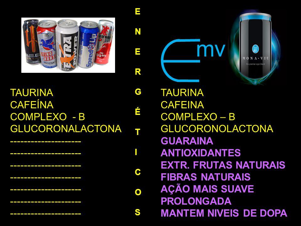 mv TAURINA TAURINA CAFEÍNA CAFEINA COMPLEXO - B COMPLEXO – B
