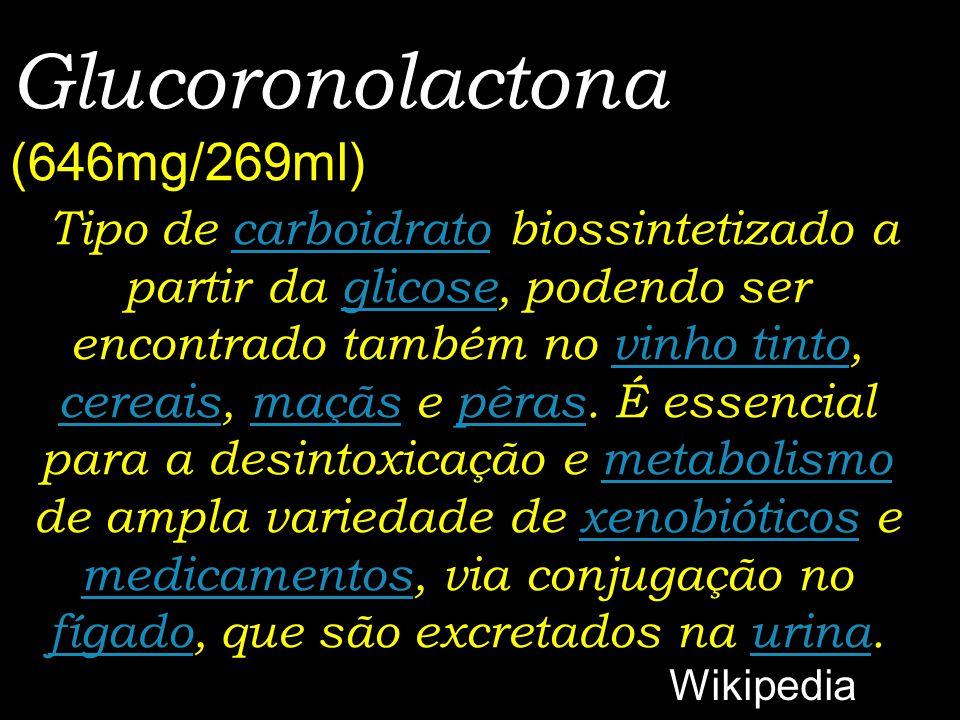 Glucoronolactona (646mg/269ml)