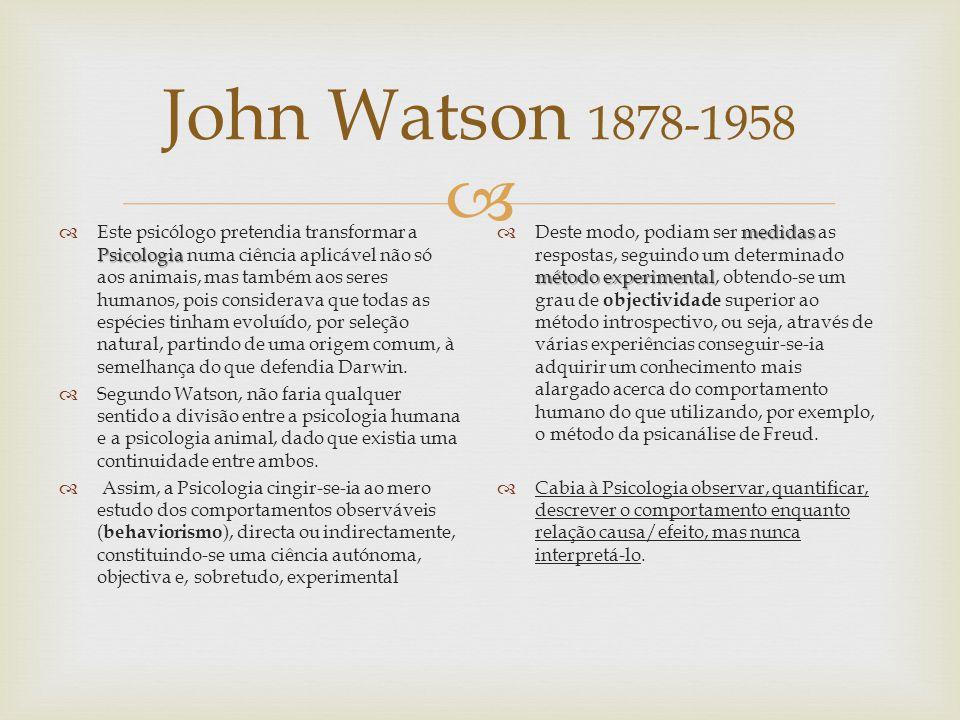 John Watson 1878-1958
