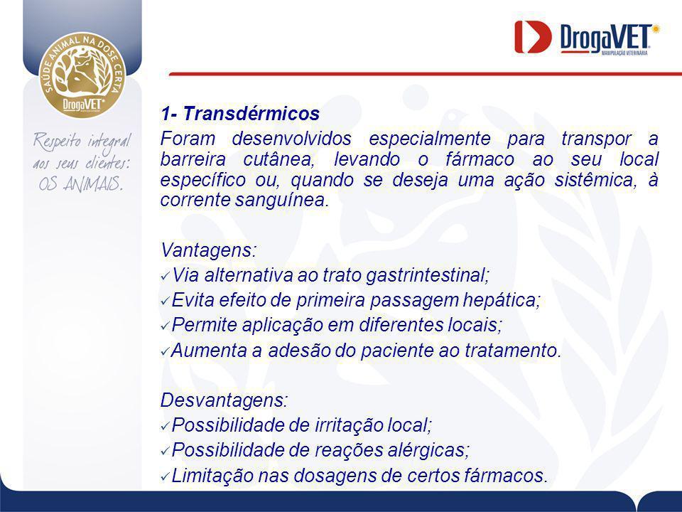 1- Transdérmicos