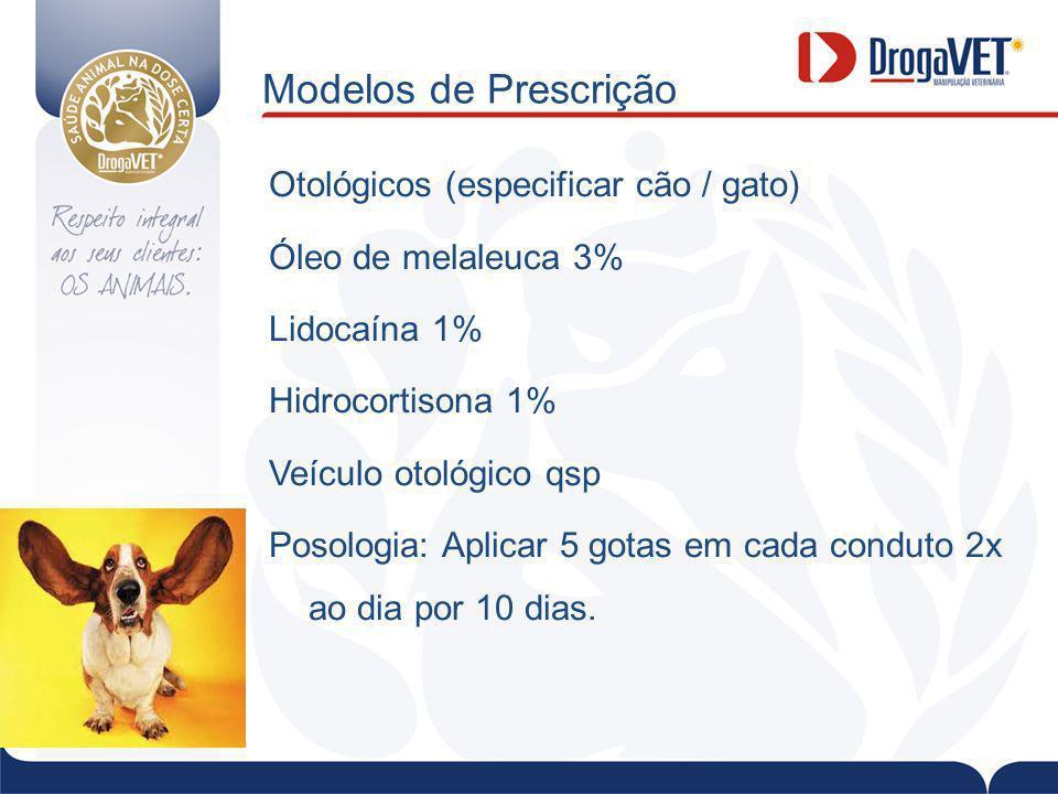 Modelos de Prescrição
