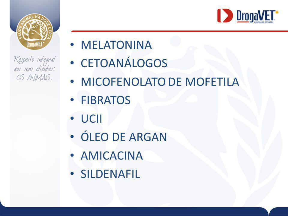 MICOFENOLATO DE MOFETILA FIBRATOS UCII ÓLEO DE ARGAN AMICACINA