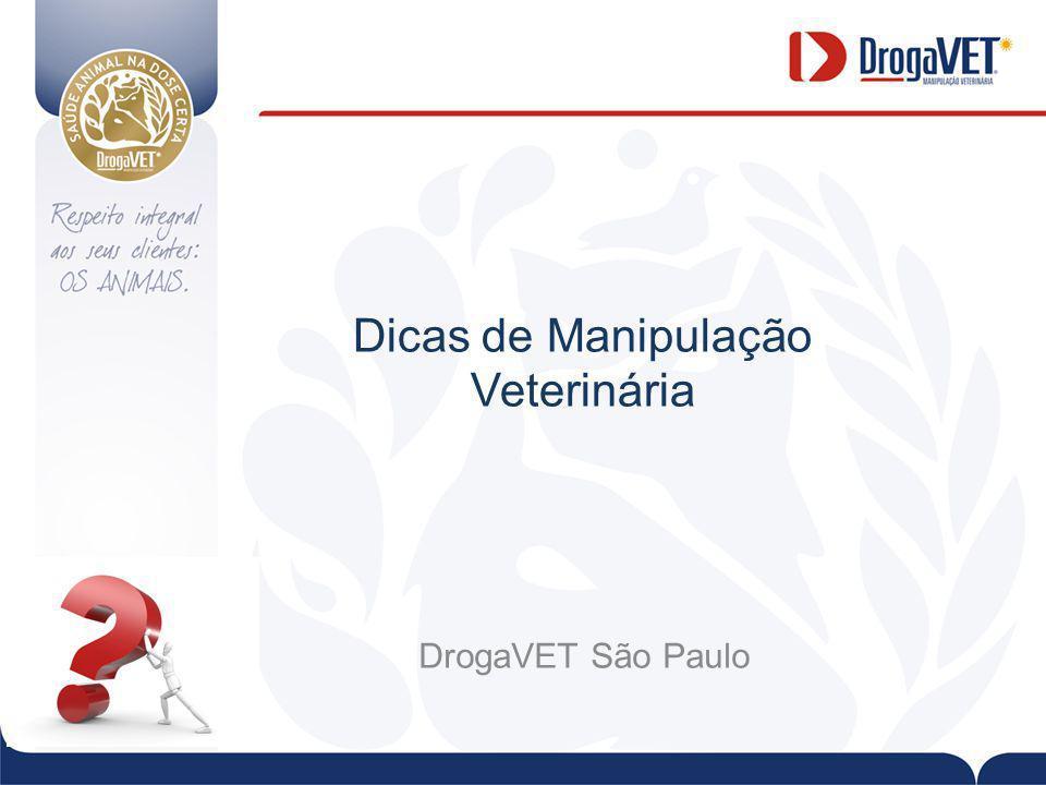 Dicas de Manipulação Veterinária