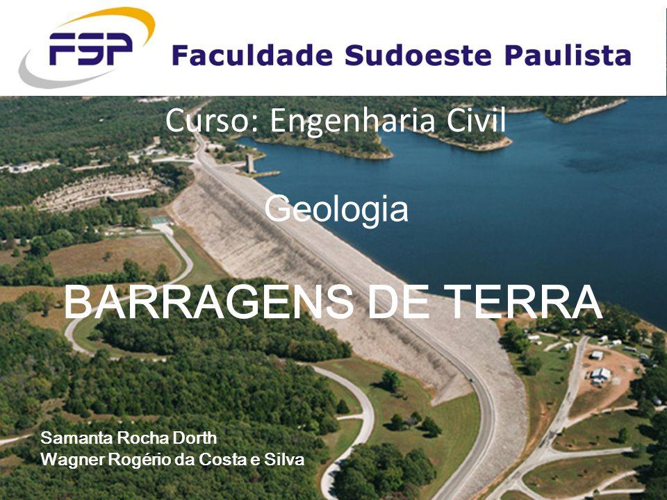 Curso: Engenharia Civil Geologia