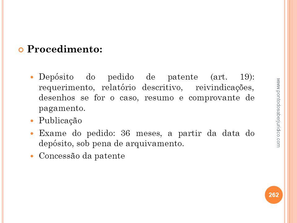 Procedimento: