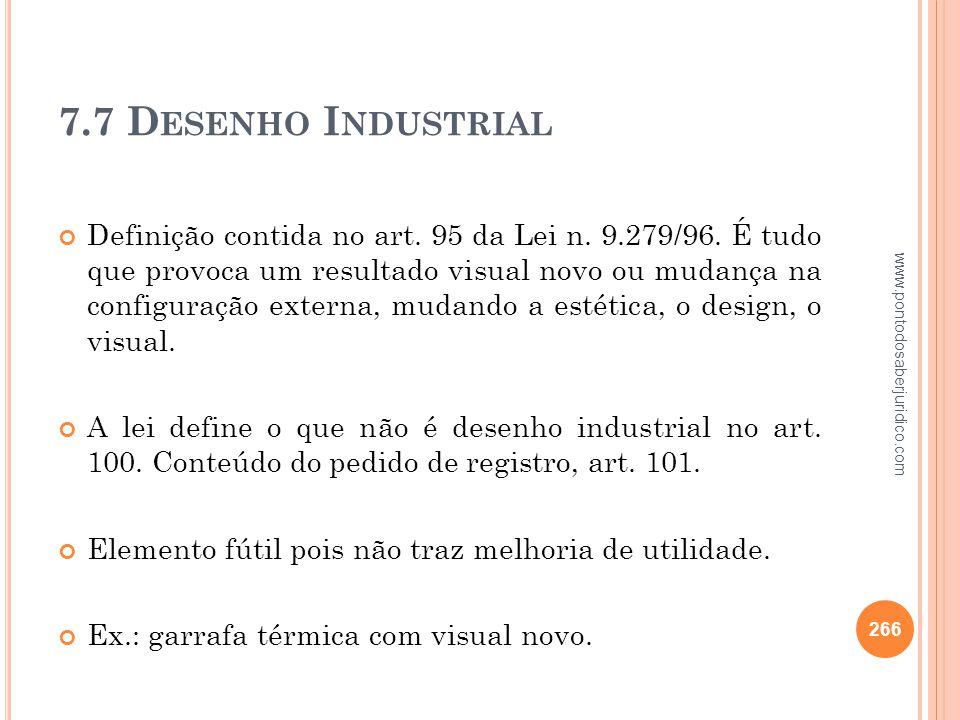 7.7 Desenho Industrial