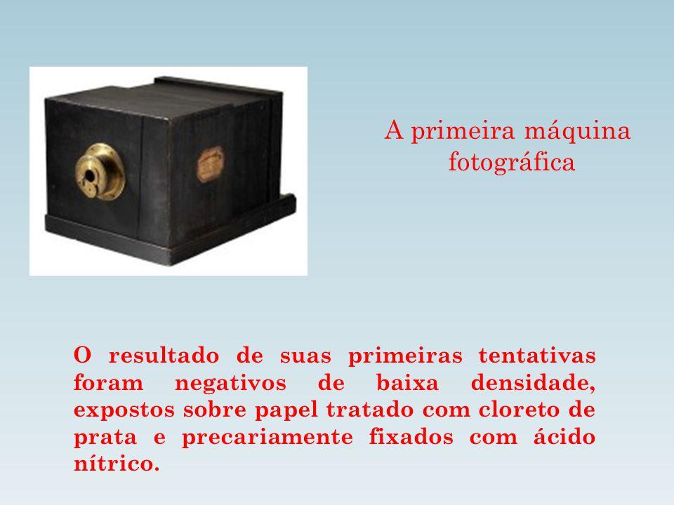 A primeira máquina fotográfica
