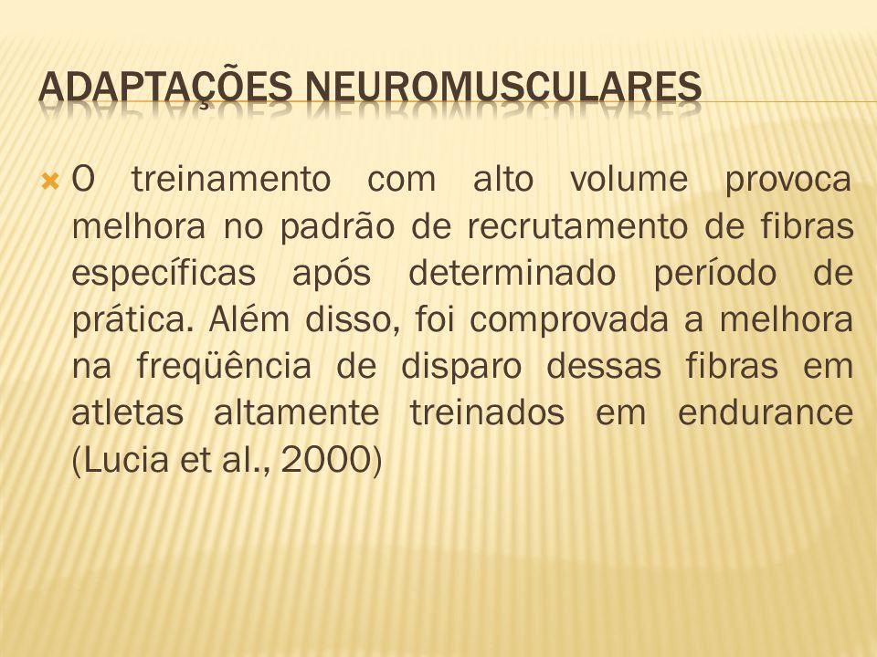 Adaptações Neuromusculares