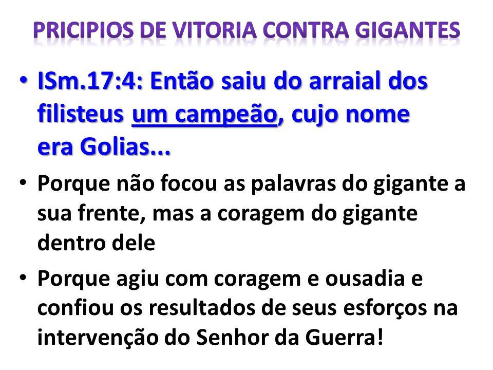 PRICIPIOS DE VITORIA CONTRA GIGANTES