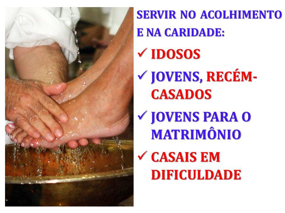 JOVENS PARA O MATRIMÔNIO CASAIS EM DIFICULDADE
