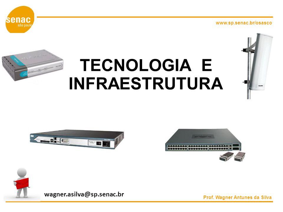 TECNOLOGIA E INFRAESTRUTURA wagner.asilva@sp.senac.br