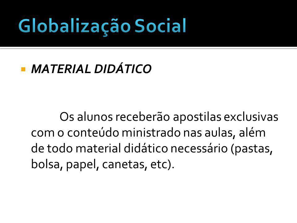 Globalização Social MATERIAL DIDÁTICO
