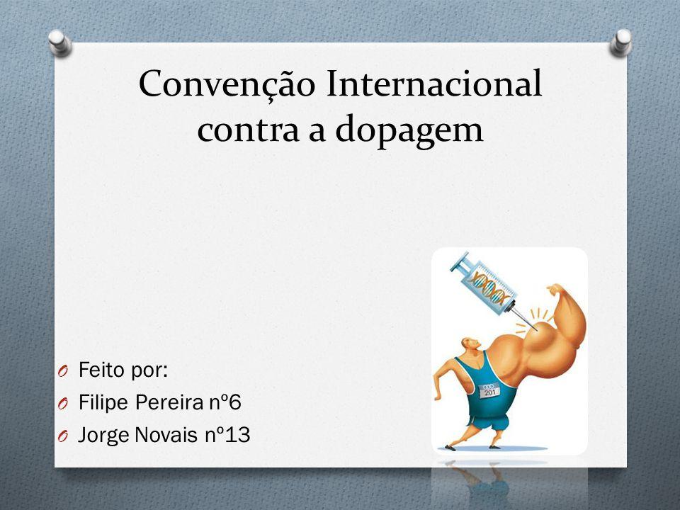 Convenção Internacional contra a dopagem