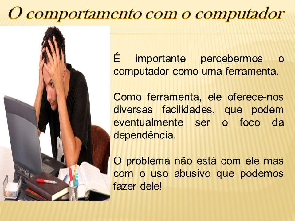 O comportamento com o computador
