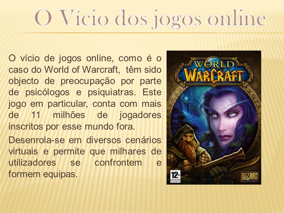 O Vício dos jogos online