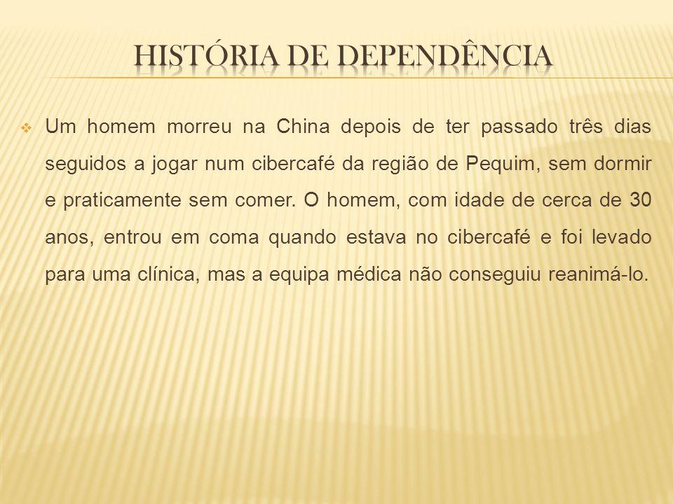 História de dependência