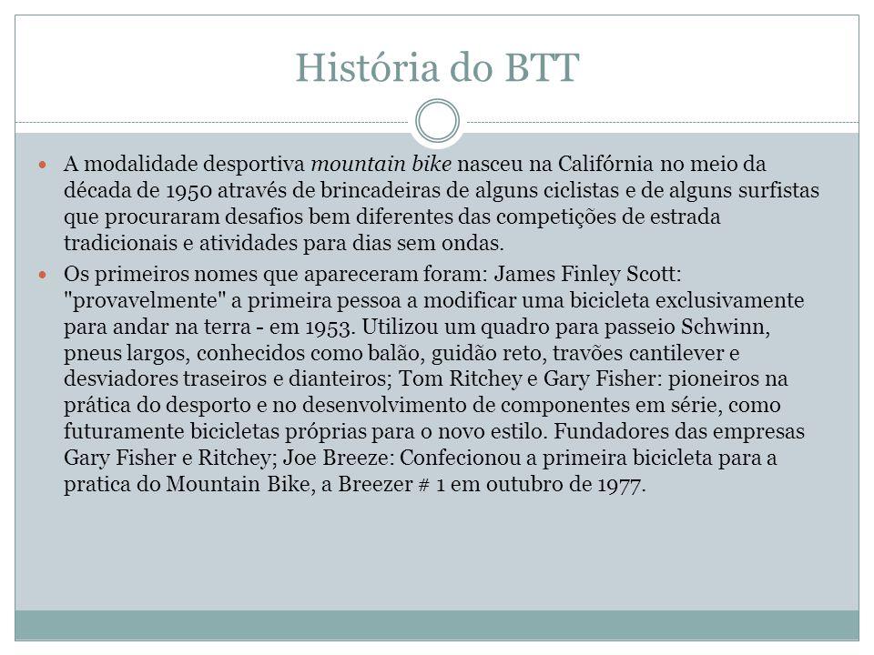 História do BTT