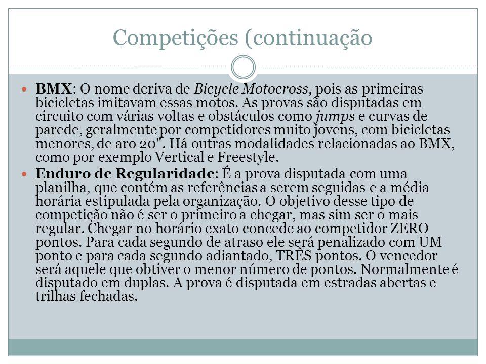Competições (continuação