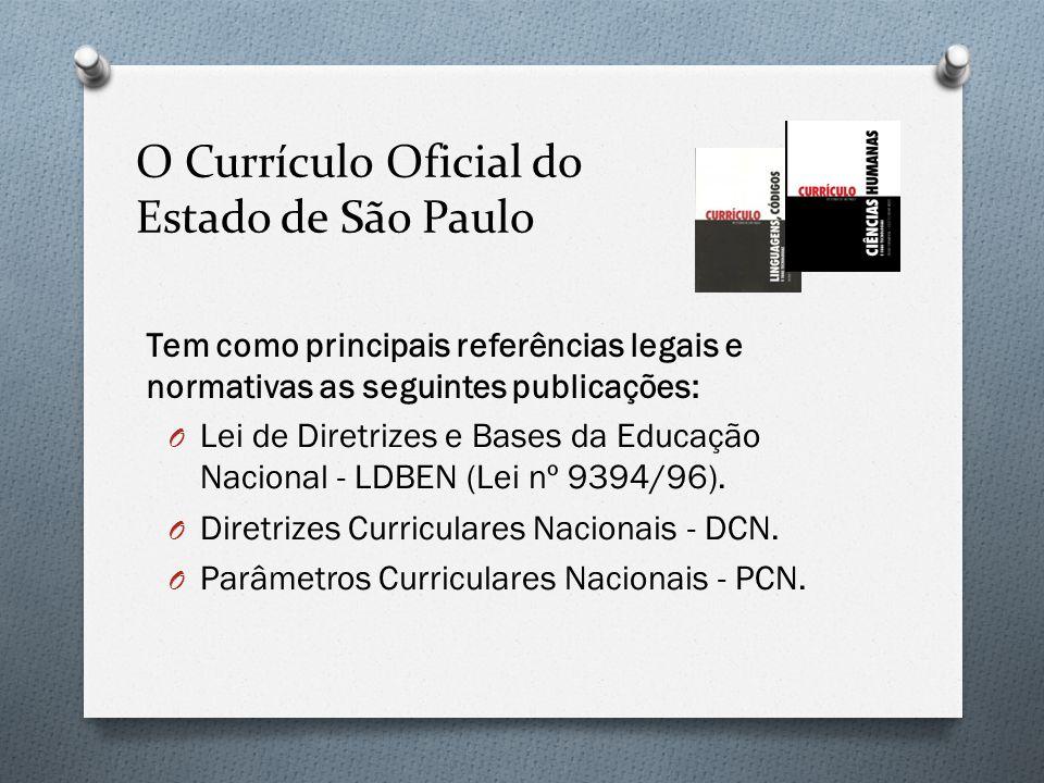 O Currículo Oficial do Estado de São Paulo