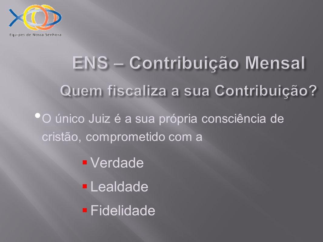 ENS – Contribuição Mensal Quem fiscaliza a sua Contribuição