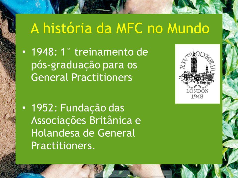 A história da MFC no Mundo