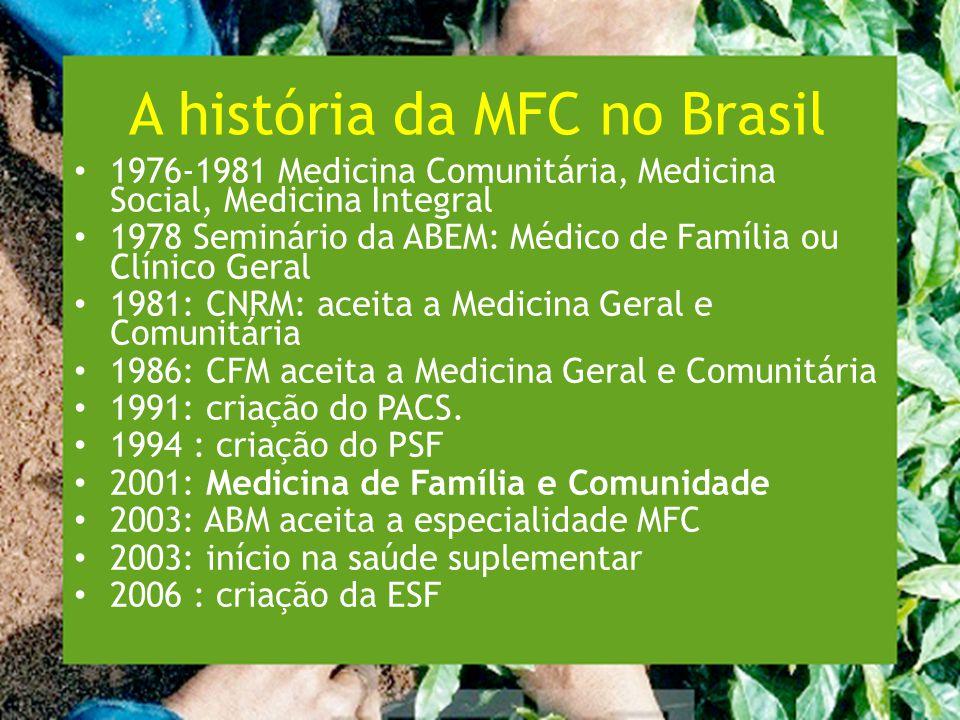A história da MFC no Brasil