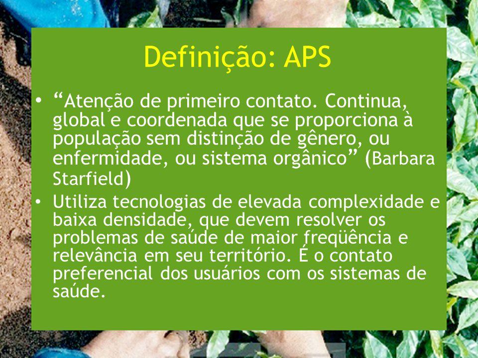 Definição: APS
