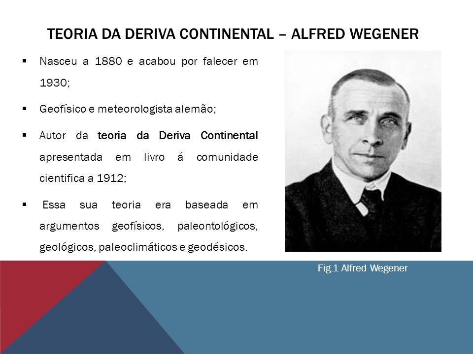 Teoria da Deriva Continental – Alfred Wegener