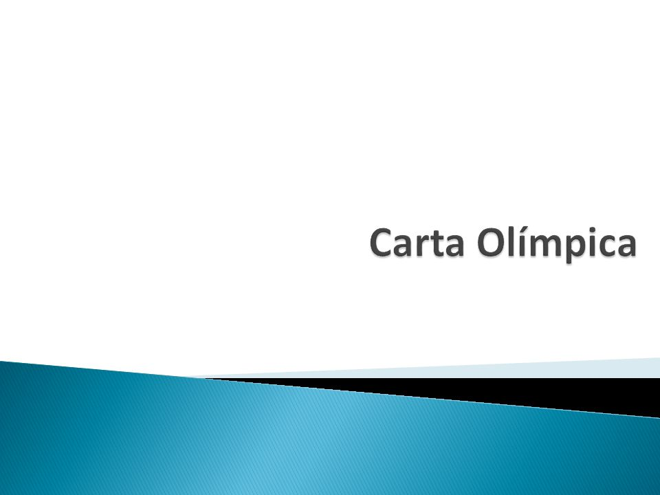 Carta Olímpica