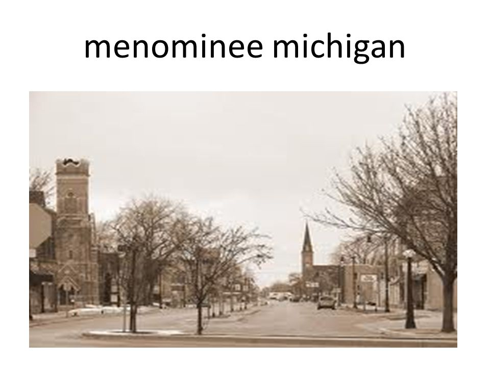 menominee michigan