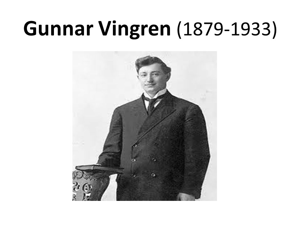 Gunnar Vingren (1879-1933)