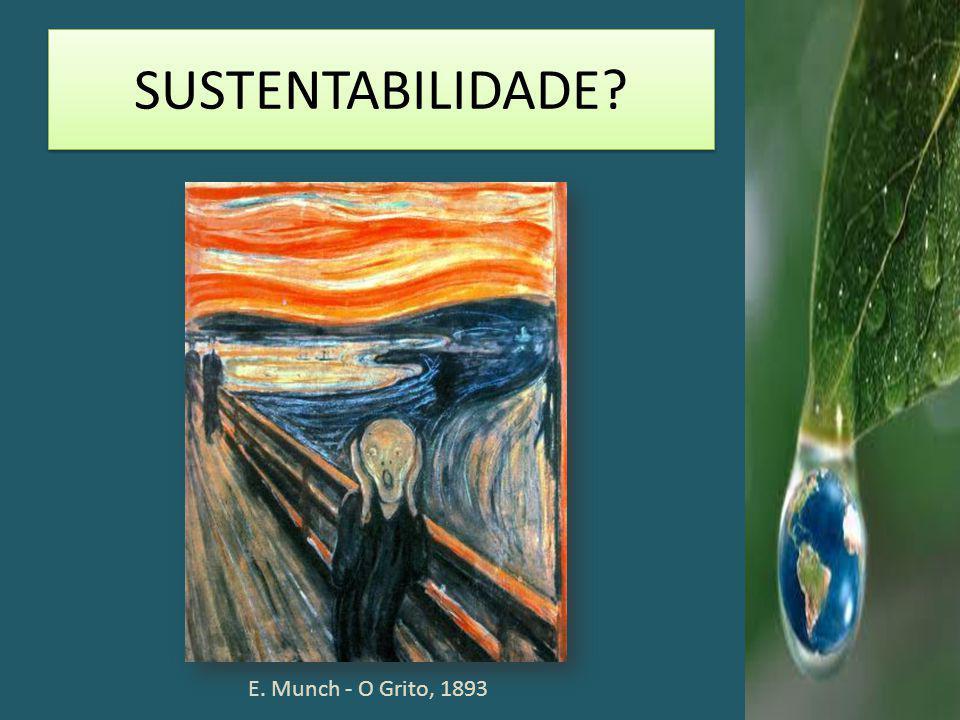 SUSTENTABILIDADE E. Munch - O Grito, 1893