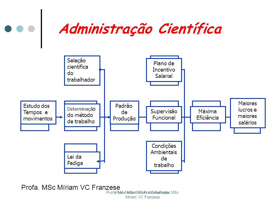 Profa. MSc Míriam VC Franzese