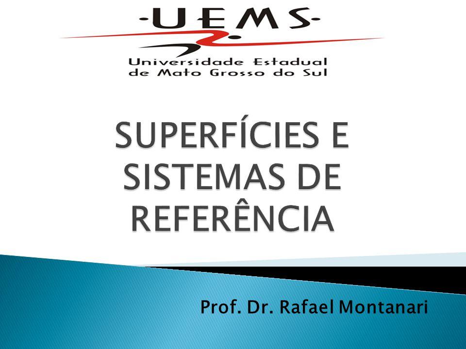 SUPERFÍCIES E SISTEMAS DE REFERÊNCIA