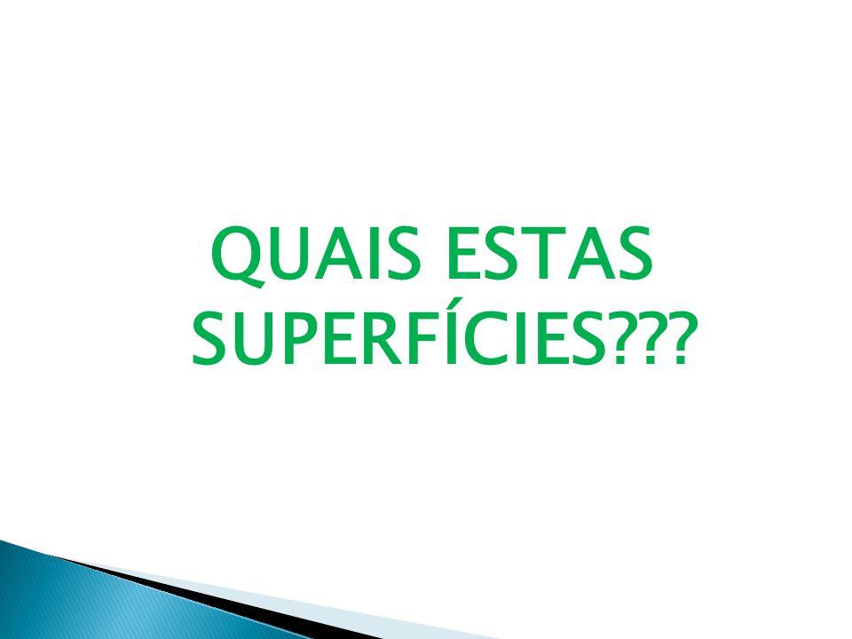 QUAIS ESTAS SUPERFÍCIES