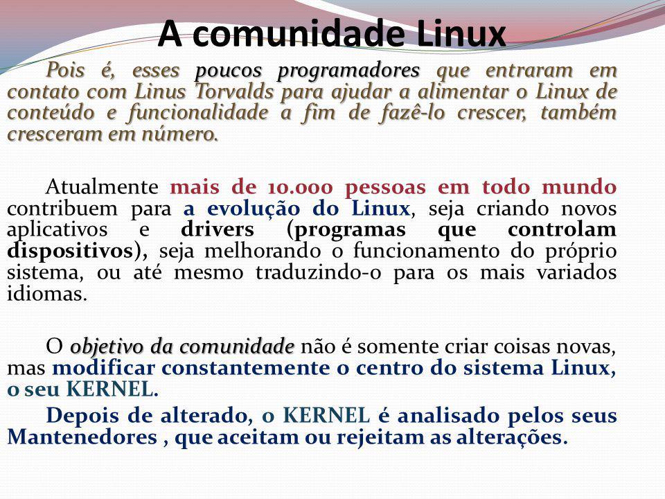 A comunidade Linux