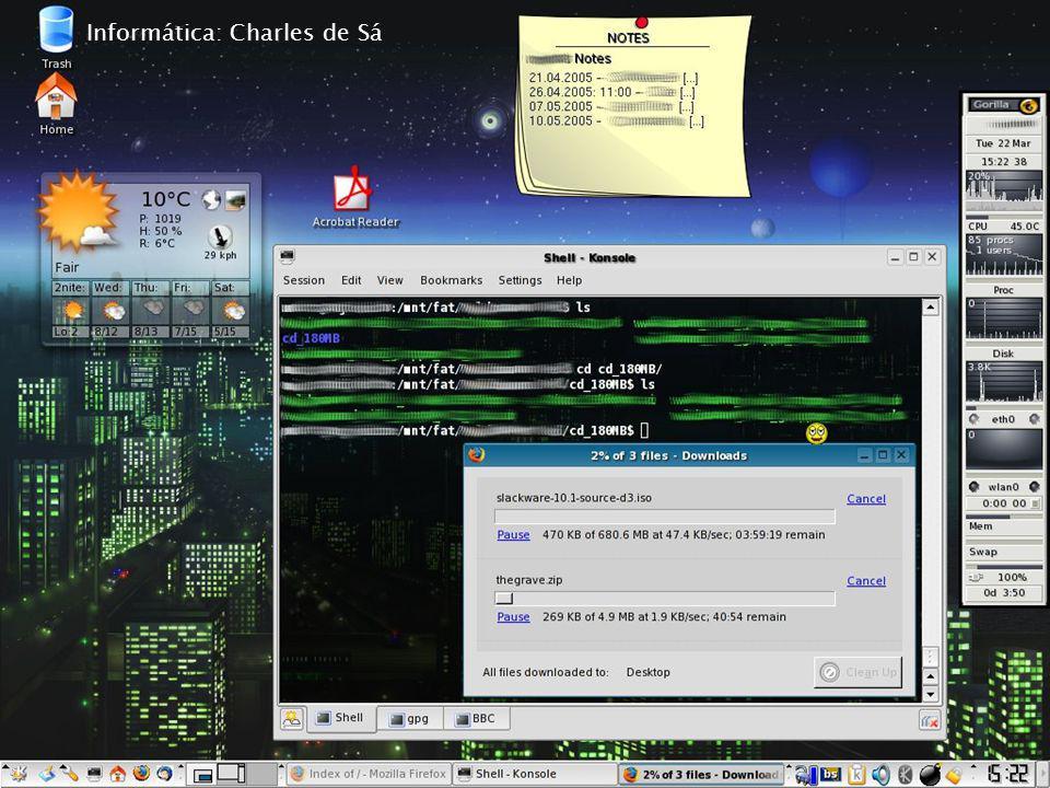 Informática: Charles de Sá